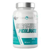 Picolinate de Chrome 600mg - 60 caps Natural Health - 1