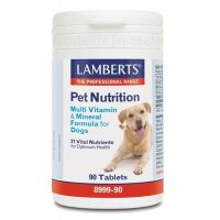 Pet nutrition (multi vitamin and mineral for dogs) - 90 tabs