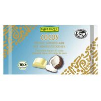 White chocolate snack with coconut rapunzel - 100g