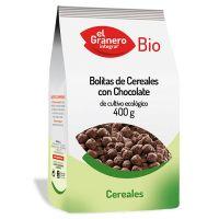 Cereal balls with chocolate bio - 400 g El Granero Integral - 1