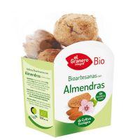Biscuits Artisanaux à l'Amande Bio - 250 g El Granero Integral - 1