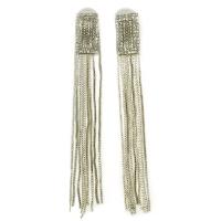 Fringed earrings