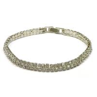 White bracelet with hook P