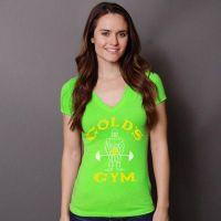 camiseta chica pico neon joe classic