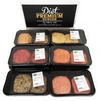 Pack 4 Plateaux de 5 Hamburgers 100% Frais