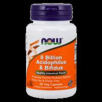 8 billion acidophilus & bifidus - 60 veg capsules