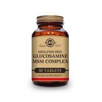 Complexe de Glucosamine MSM - 60 comprimés Solgar - 1