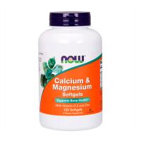 Calcium Magnésium + Vitamine D - 120 softgels