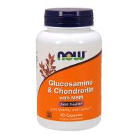 Glucosamine et Chondroïtine avec MSM - 90 capsules