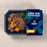 Veau Mariné avec Garniture de Pommes de Terre Rôties - Mana Foods ManaFoods - 1