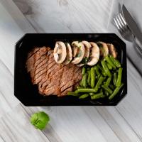 Steak Chimichurri aux Haricots Verts et aux Champignons - Mana Foods ManaFoods - 1