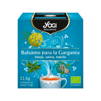 Baume pour la Gorge - 12 sachets Yogi Organic - 1