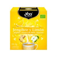 Gingembre et Citron - 12 sachets Yogi Organic - 1