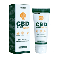 Crème de Massage CBD Plus - 75ml Weider - 1
