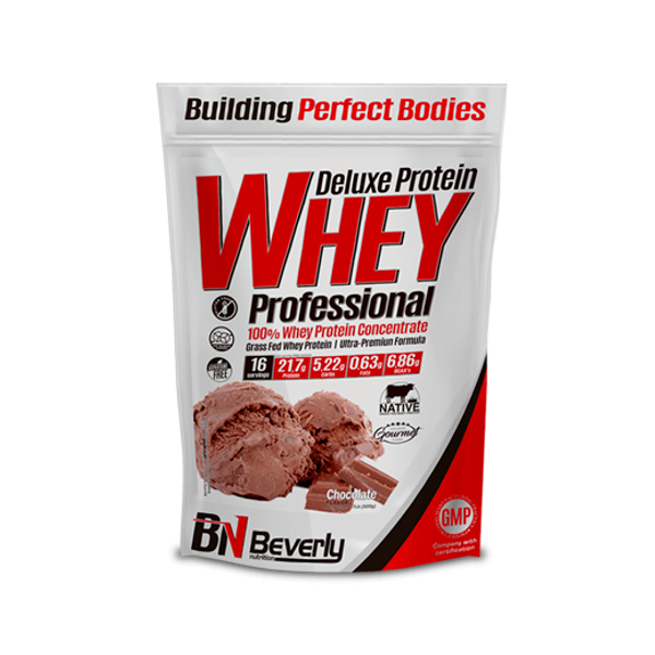 100% Deluxe Whey Professional - 500g Beverly Nutrition - 1