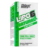 Lipo 6 natural - 60 capsules Nutrex - 1