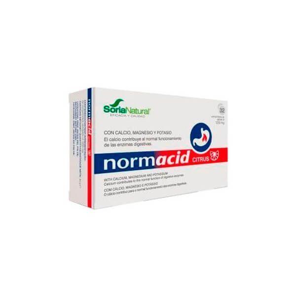 Normacid citrus - 32 comprimés Soria Natural - 1