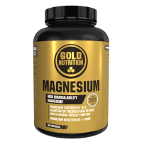 Magnésium - 60 Capsules GoldNutrition - 1