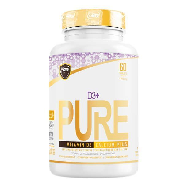 D3+ - 60 comprimés MTX Nutrition - 1