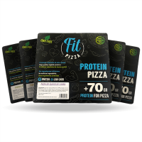 Pack 5 protein fit pizza - Fitness Burger Fitness Burger - 1