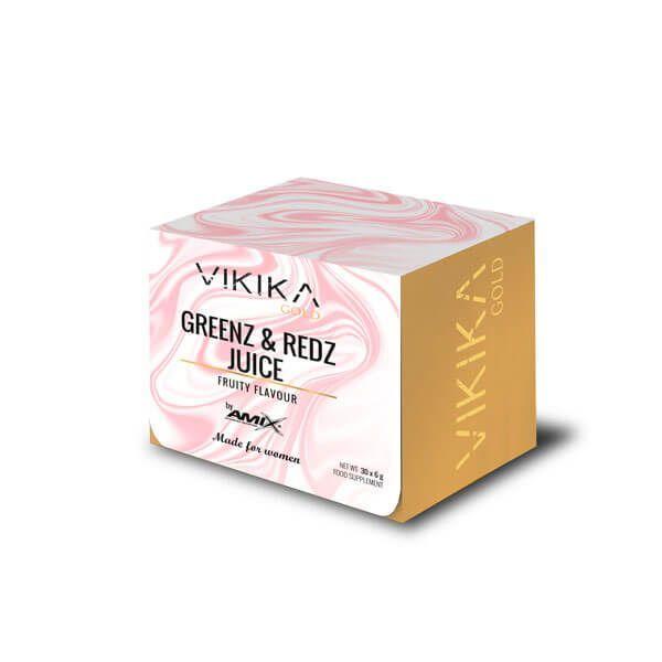 Greenz and Redz Juice - 180g Vikika Gold by Amix - 1
