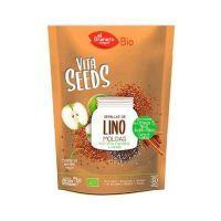 Vitaseeds Graines de Lin Chia et de Pomme - 200g El Granero Integral - 1