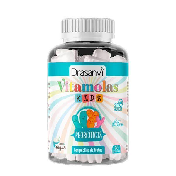 Vitamolas Probiotiques Enfants - 60 bonbons gélifiés Drasanvi - 1