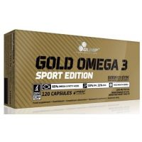 Gold Omega3 Sport Edition - 120 caps