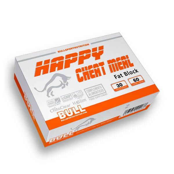 Happy Cheat Meal Fat Block - 60 Capsules Bull Sport Nutrition - 1