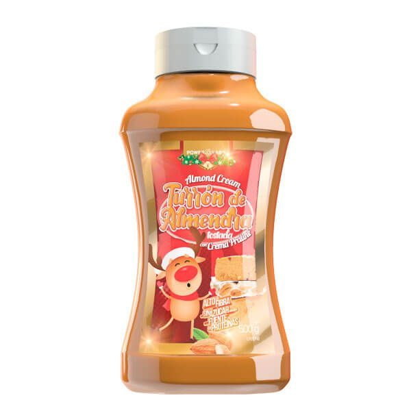 Crème de Nougat aux Amandes - 500g Power Labs - 1