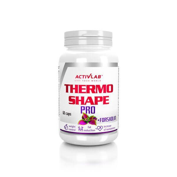 Thermo shape pro - 60 capsules Activlab - 1