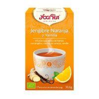 Orange and vanilla ginger - 17 sachets Yogi Organic - 1