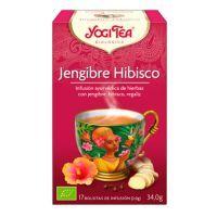 Yogi Tea Gingembre Hibiscus - 17 sachets Yogi Organic - 1