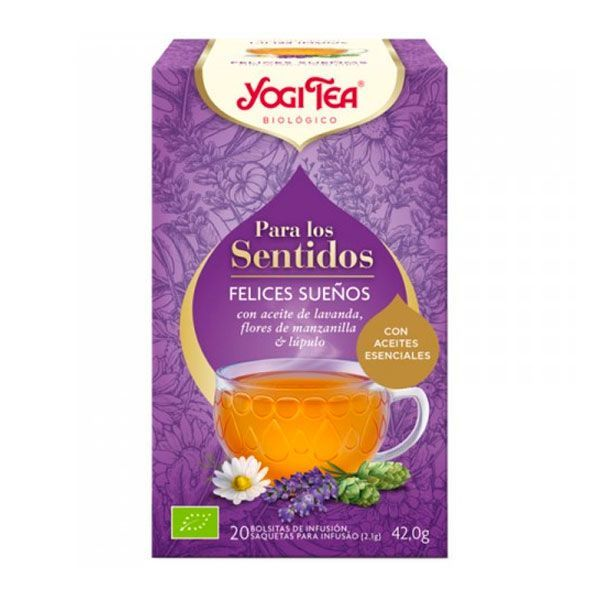 Yogi Tea Pour les Sens Joyeux Rêves - 20 sachets Yogi Organic - 1