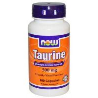 NOW Taurine 500 mg - 100 Caps