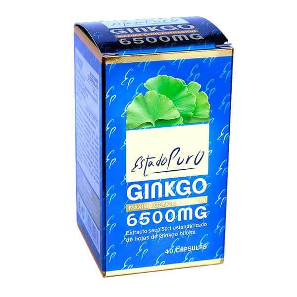 État Pur Ginkgo 6500mg - 40 capsules Tongil - 1