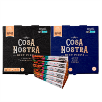 Pack 6 Barquettes d'Hamburgers + 2 Diet Pizza Cosa Nostra - Meat Protein Meat Protein - 1