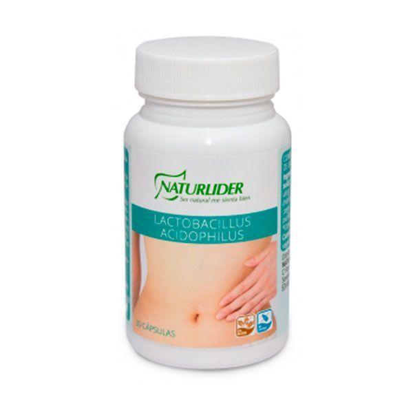 Lactobacillus acidophilus - 30 capsules NaturLíder - 1