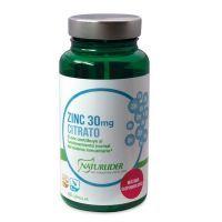 Zinc 30mg citrate - 60 capsules NaturLíder - 1