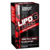 Lipo - 6 Black Ultra Concentré - 60 capsules Nutrex - 1
