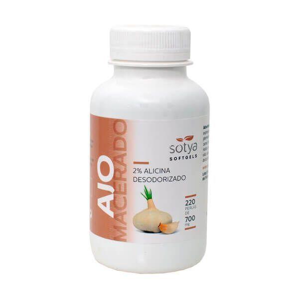 Ail Macéré 700mg - 220 softgels Sotya Health Supplements - 1