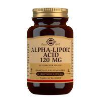 Acide Alpha Lipoïque 120mg - 60 capsules végétales Solgar - 1