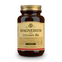 Magnésium + Vitamine B6 - 250 comprimés Solgar - 1