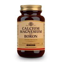 Calcium magnésium plus bore - 250 comprimés Solgar - 1