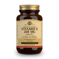 Vitamine E 400 IU - 100 Softgels Solgar - 1