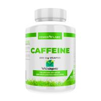 Caféine 200mg - 90 capsules végétales Power Labs - 1