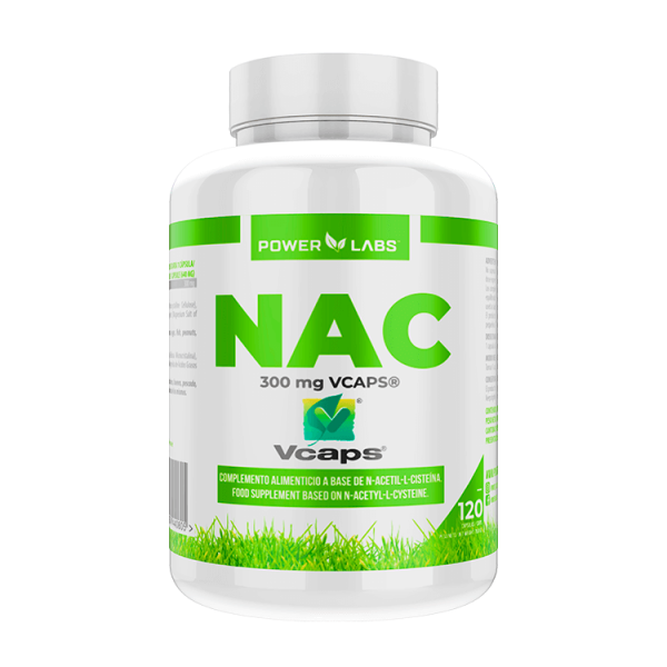 Nac 300mg - 120 vegetable capsules Power Labs - 1