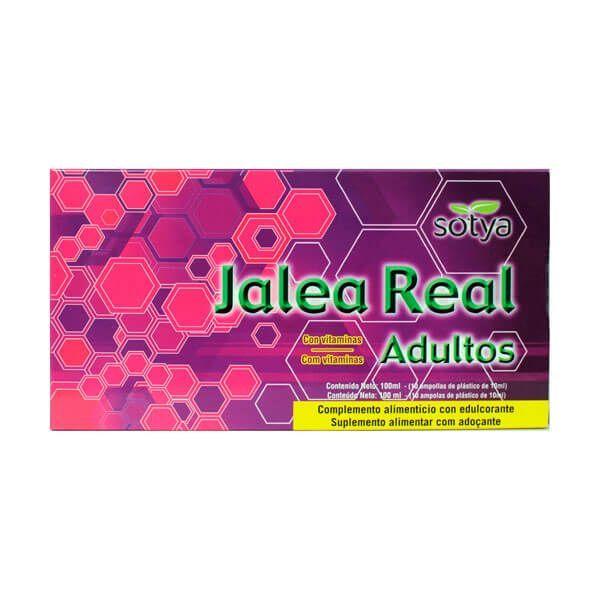 Royal jelly adults - 10 vials Sotya Health Supplements - 1