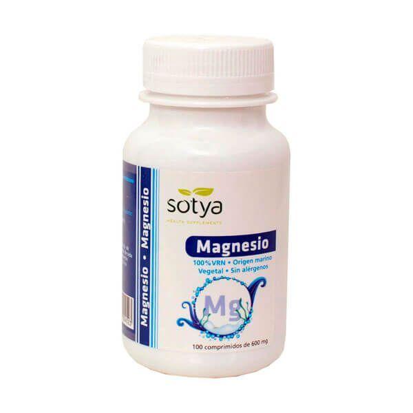 Magnesium 600mg - 100 tablets Sotya Health Supplements - 1