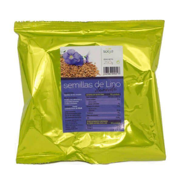 Golden flax seeds - 250g Sotya Health Supplements - 1